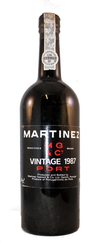 Martinez Vintage Port, 1987