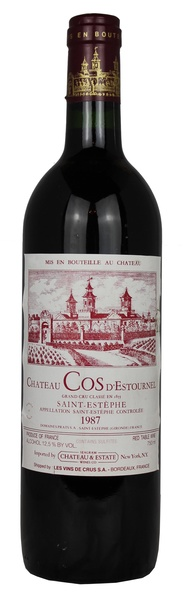 Chateau Cos d'Estournel, 1987