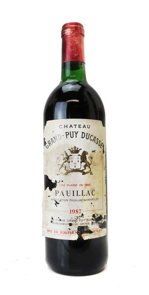 Chateau Grand Puy Ducasse, 1987